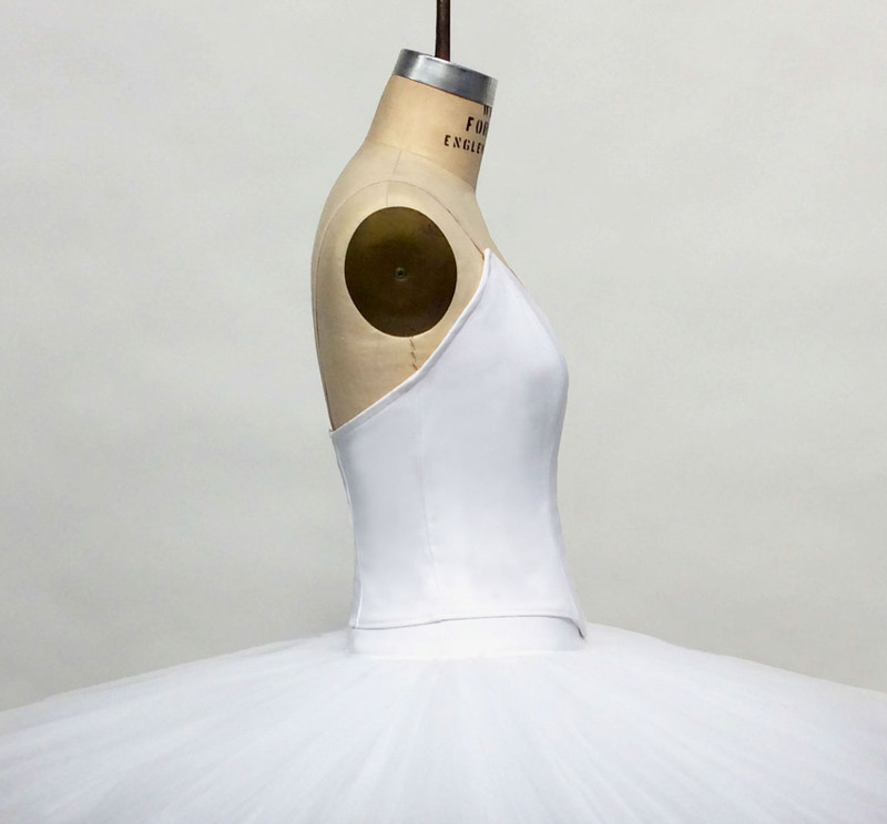 Conservatory C504 bodice side view