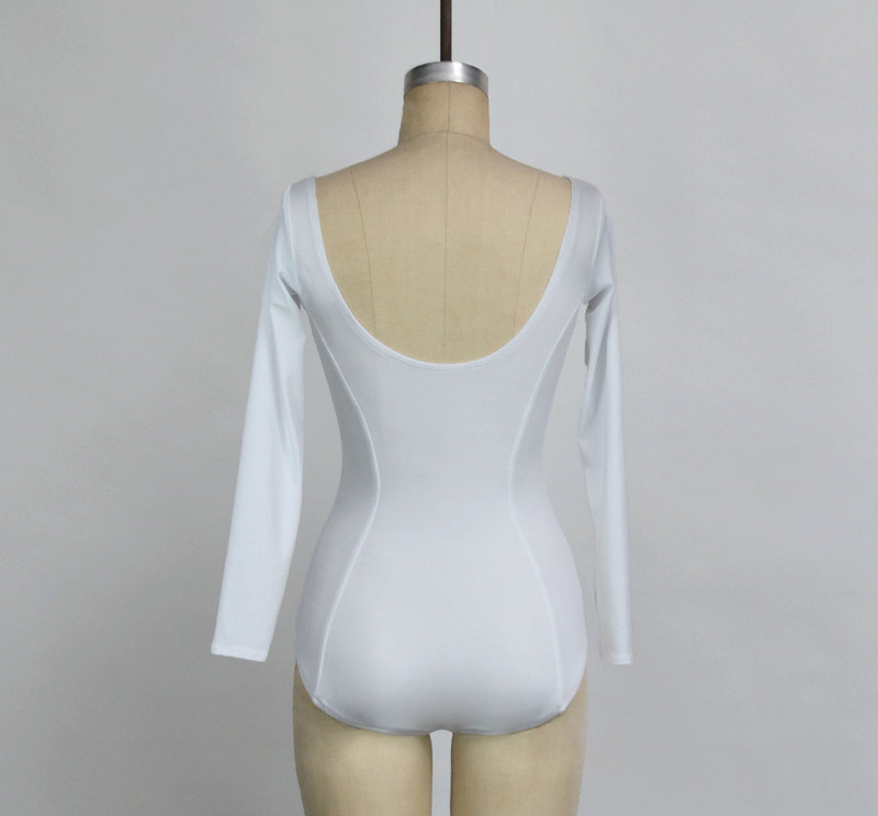 C110 Leotard Back