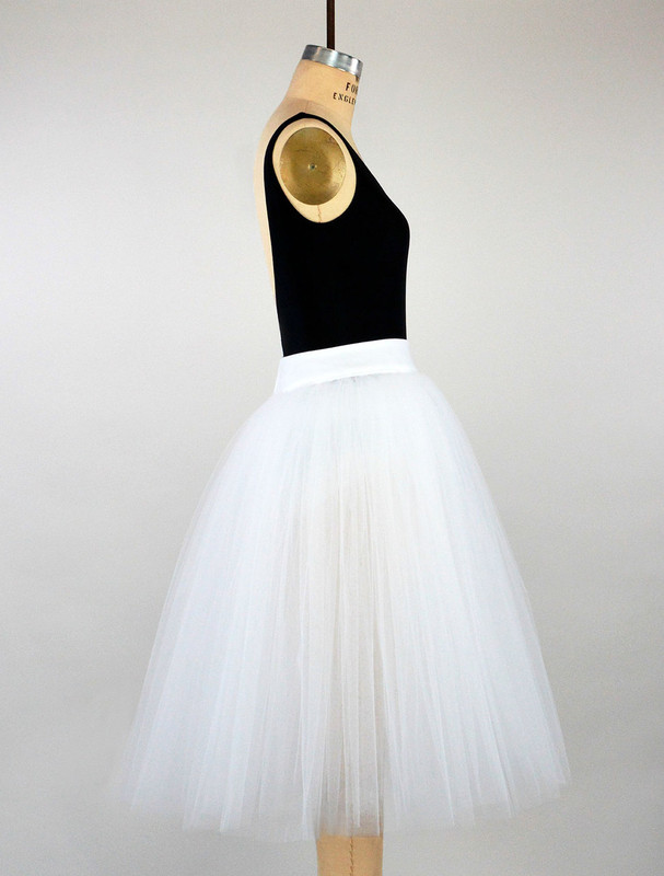 Conservatory C600 rehearsal tutu side view