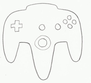 VIDEO GAME CONTROLLER D
