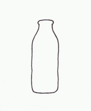 MILK BOTTLE QUART