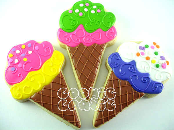 decorated cookies by cookiecrazie