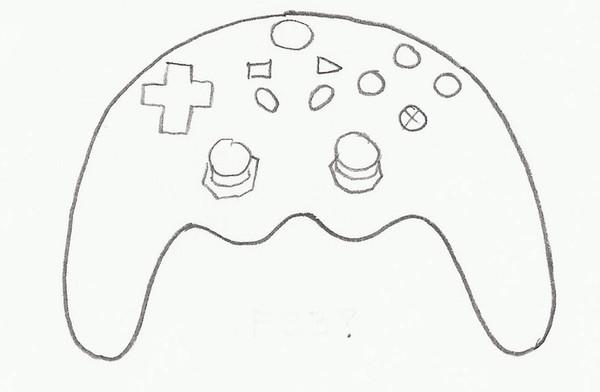 VIDEO GAME CONTROLLER C