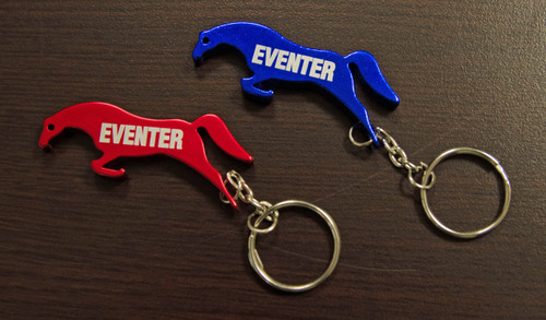 "Horse ""Eventer"" Key Chain"