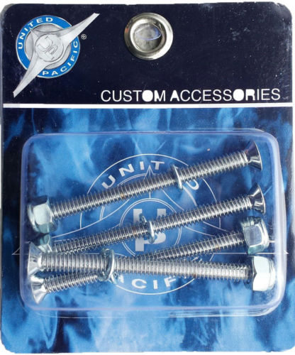 "Chrome Screw & Bolt Set For Chrome Air Valve Lever - 3"" Long (Set 4)"