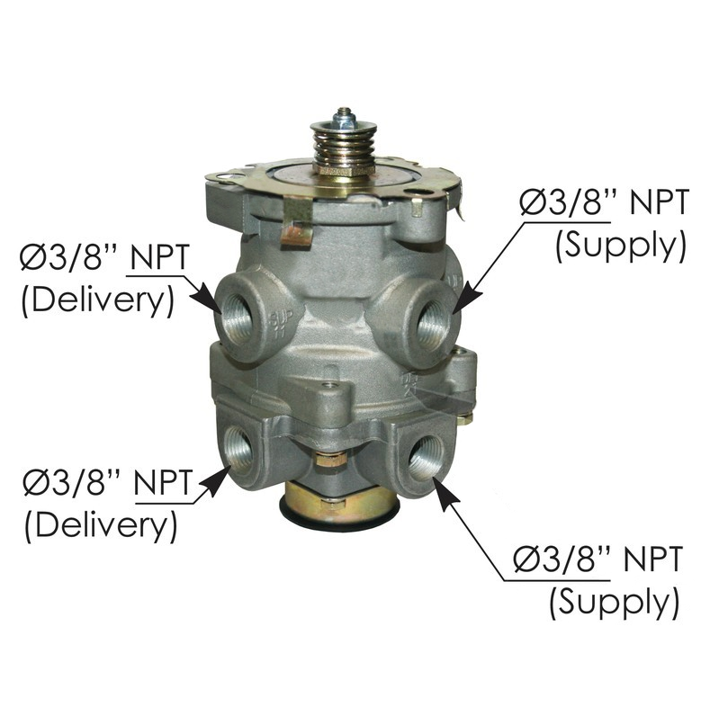 E-6 Foot Brake Control Valve  (Replaces Bendix 286171)
