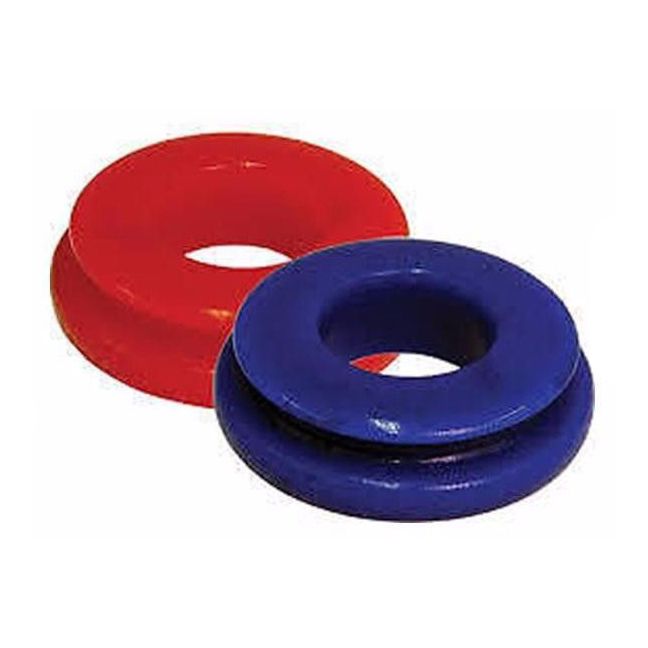 Poly glad hand seals for Trucks and Trailer, Red and Blue, Set of 4