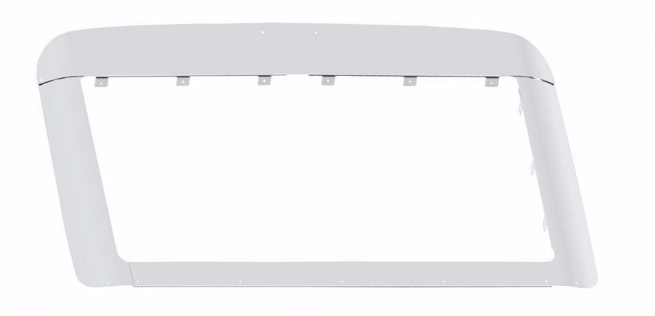 Volvo 2003+ VN 630/670/780 Stainless Steel Bug and Grill Deflector Kit