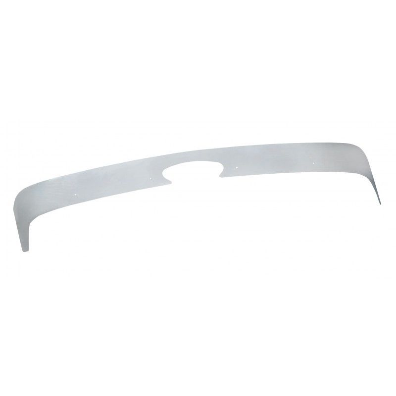 Stainless Steel Bug Deflector for Peterbilt 579, 2013 & Newer