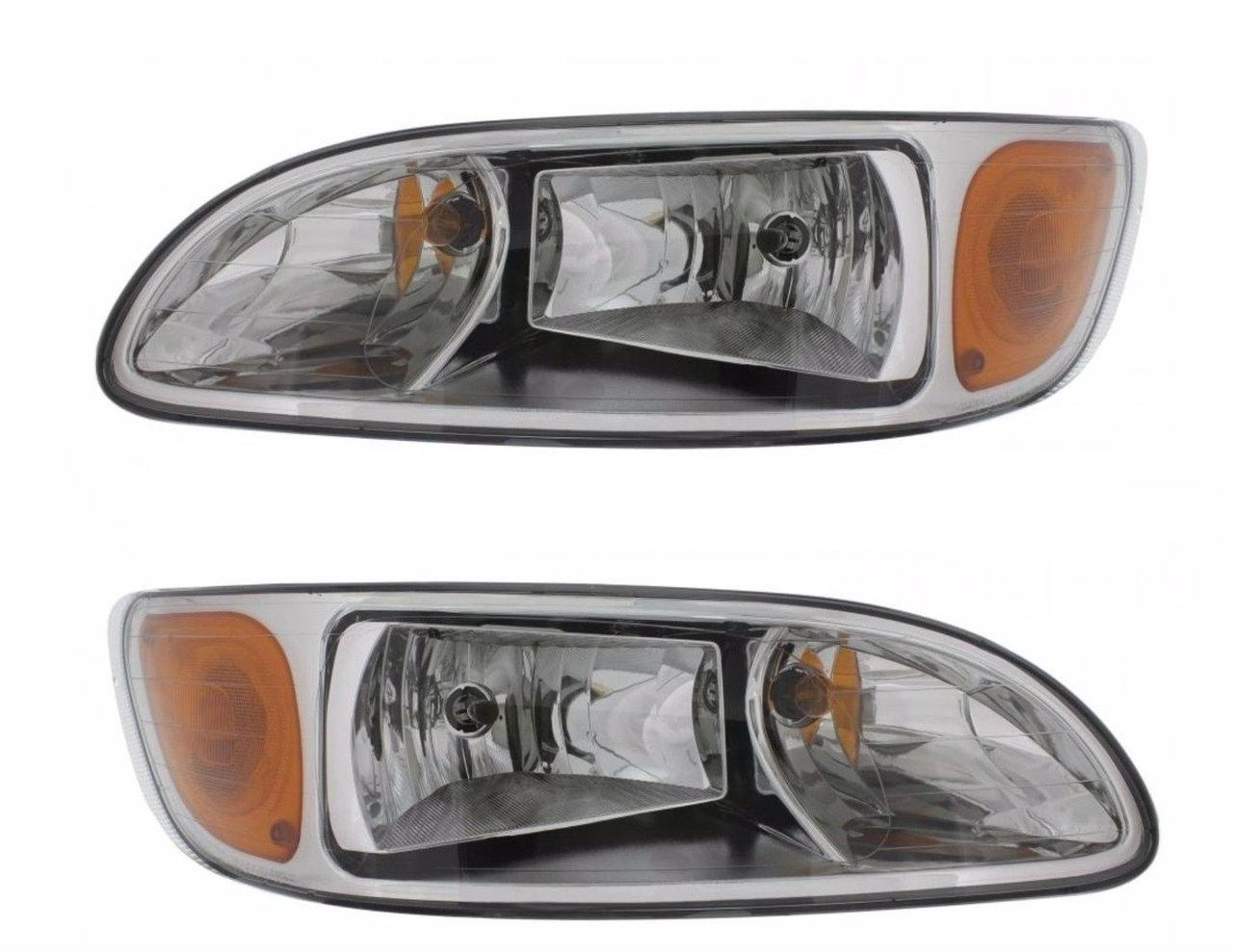 Peterbilt 386, 387 Headlight Assembly RH & LH  (Driver & Passenger)  SET