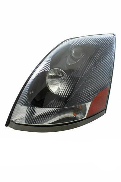 Volvo VN VNL VNM Series 430 630 670 730 780 Head Light Black Housing (LH)