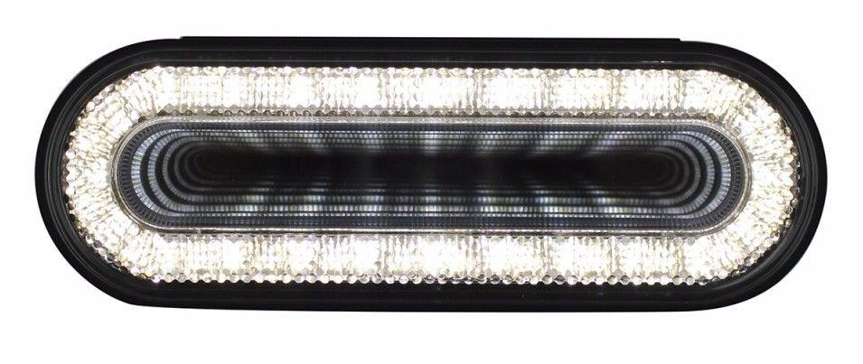 "24 LED 6"" Oval ""Mirage"" White Back up Light"