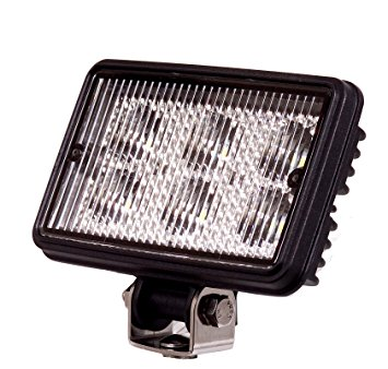 High Power Rectangular LED Work Light Peterbilt Freightliner Kenworth Semi Truck