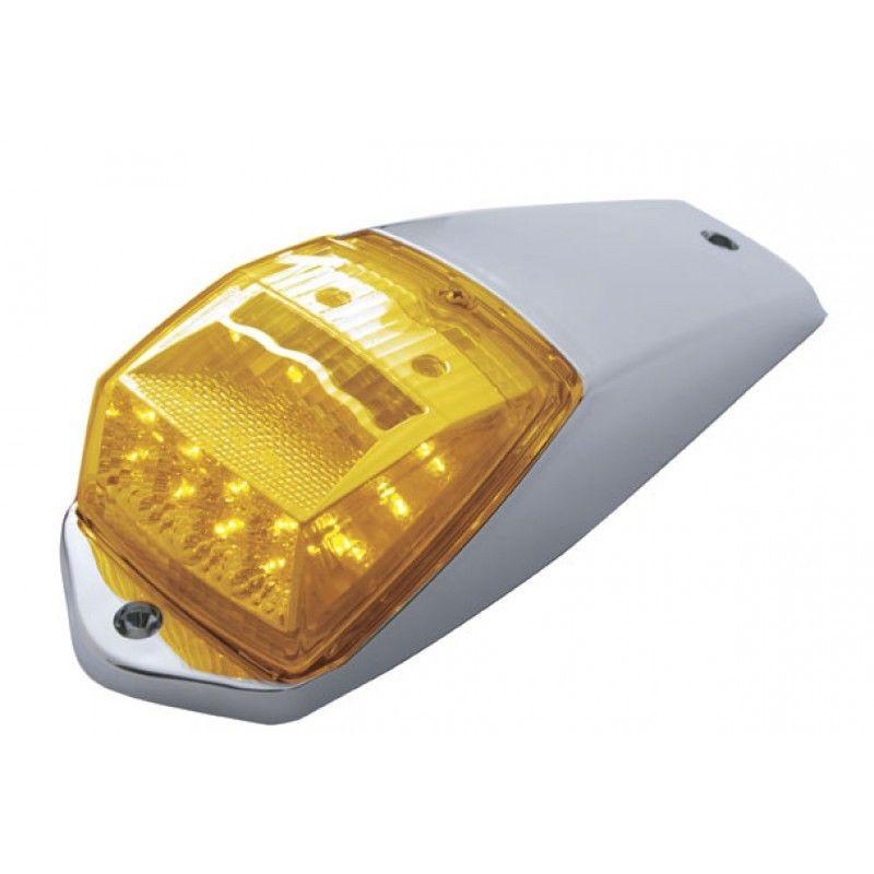 17 LED Reflector Cab Light Kit for Peterbilt Freightliner Kenworth