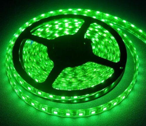 5 Meter LED Light Strip Kit (150 LED's) 16.4 ft, Green