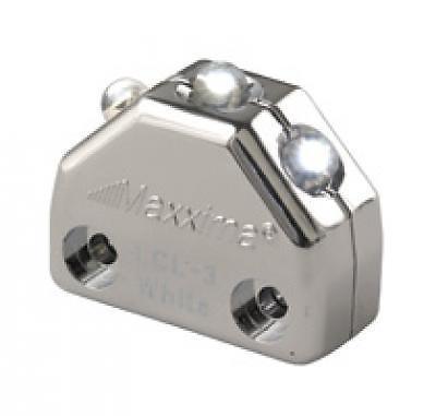 Maxxima 3 LED Chrome Micro Interior Courtesy Light (White)