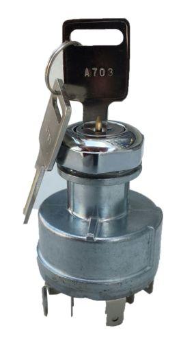 Ignition Switch w/Keys International 4000/8000 Series