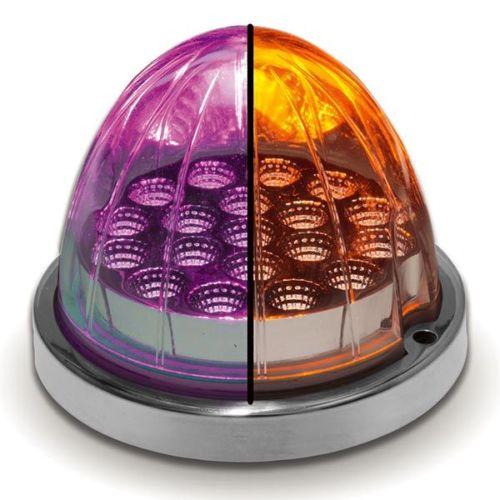 Amber/Purple Watermelon Dual Color LED Light