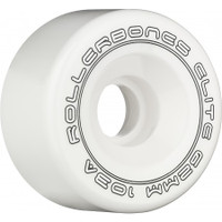 Rollerbones - Art Elite 62mm 103a White Competition Wheels ( 8 pack )