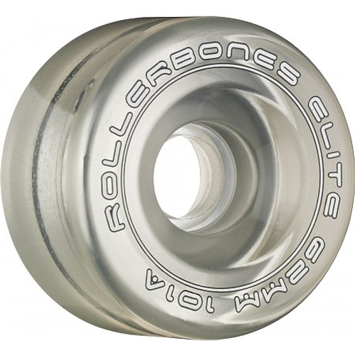 Rollerbones - Art Elite 62mm 101a Clear Competition Wheels ( 8 pack )