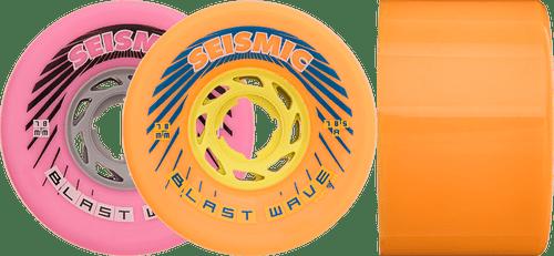Seismic Longboard wheels - 78mm Blast Wave Wheels