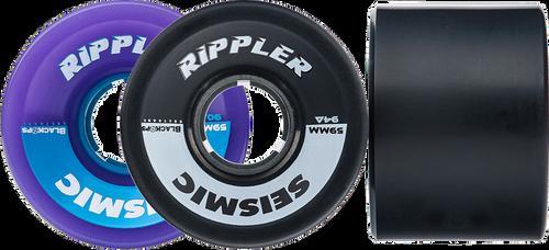 Seismic Longboard wheels -  59mm Rippler Wheels