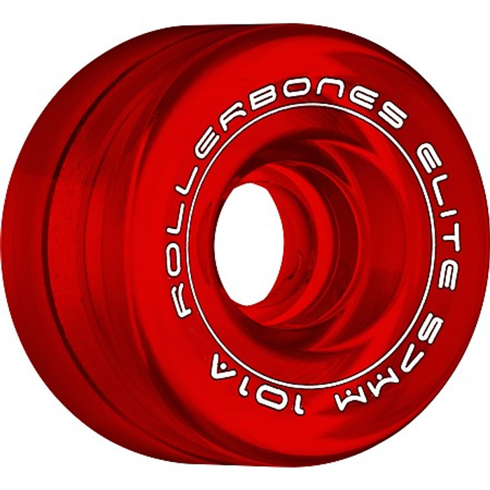 Rollerbones - Art Elite 57mm 101a Red Competition Wheels ( 8 pack )