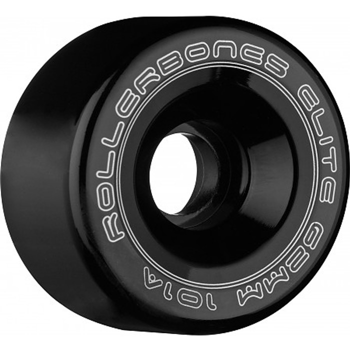 Rollerbones - Art Elite 62mm 101a Black Competition Wheels ( 8 pack )