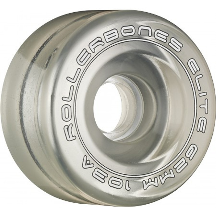 Rollerbones - Art Elite 62mm 103a Clear Competition Wheels ( 8 pack )