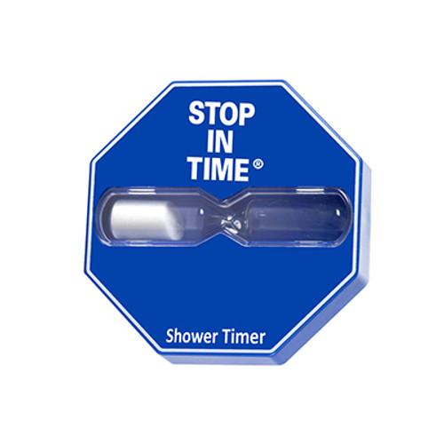Blue 5 minute Shower timer
