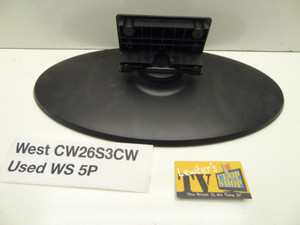 Westinghouse CW26S3CW TV Pedistal Stand Great Condition With Screws 5PR