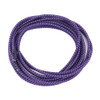 Stretch Elastic Shoelaces Curled Purple