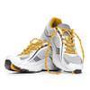 Orange Shoelaces in Shoes