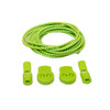 Green Stretch Elastic Shoelaces with Tension Lock