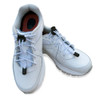 White Shoelaces in Shoes