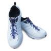 Purple Shoelaces in Shoes