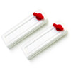 Traveling Loopo Seat Belt Tension Adjuster White 2-Pack