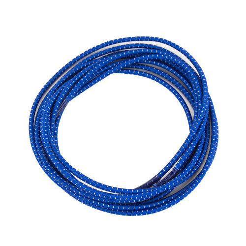 Stretch Elastic Shoelaces Curled Blue
