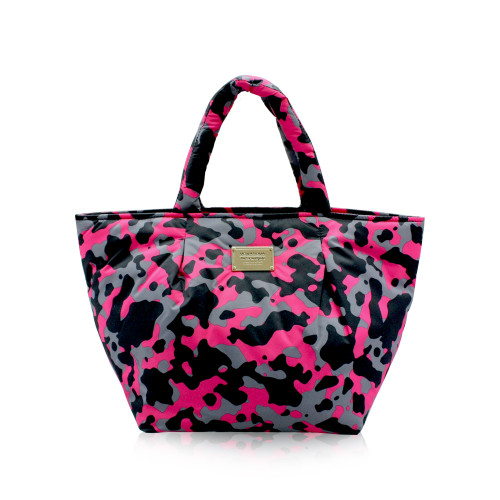 Pleate Tote - CAMO CHIC