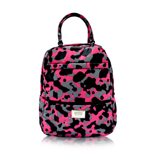 Double Handle Backpack - CAMO CHIC