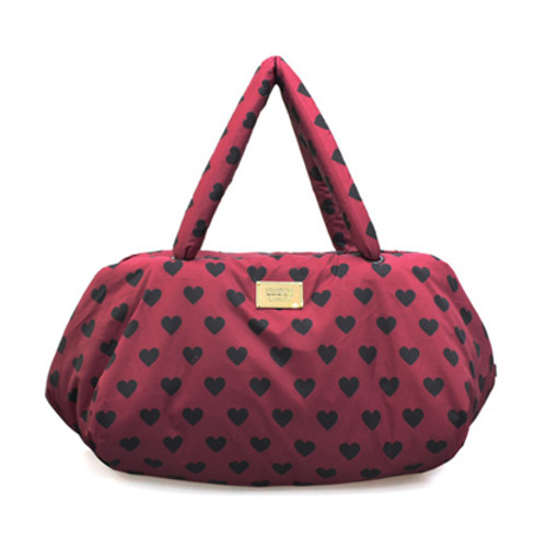 Travel Bag - Burgundy Love