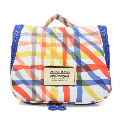 Toiletry Pouch - Criss Cross