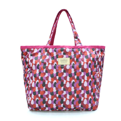 Reversible Tote - Woven - Red