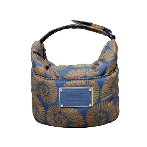 Cutie Lunch Out Sac - Spiral Shell - Blue/Gold