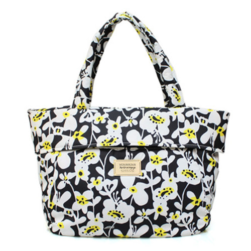 Postman Bag - Liana Floral - Black