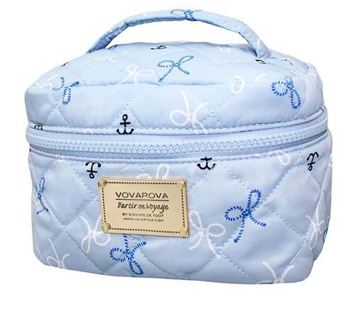 Vanity Case - Petite Knots - LT. Blue