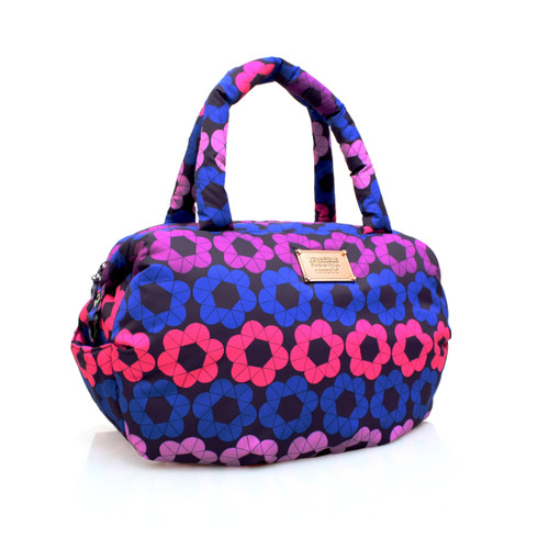 3-way Shoulder Tote - Puzzled Floral