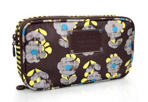 Compact Brush Case - Little Secret Garden Brown