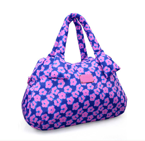 Ribbon Day Bag - Leopard Illusion - Pink