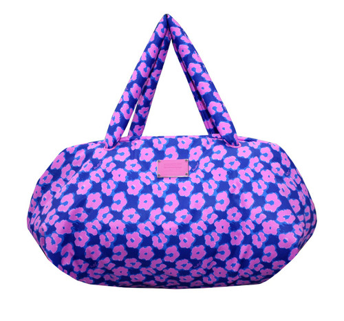 Travel Bag - Leopard Illusion - Pink